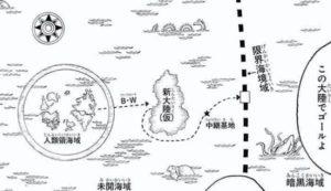 暗黒大陸編の解説図