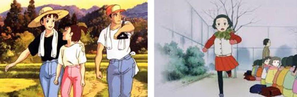 山形編とおもひで編の比較