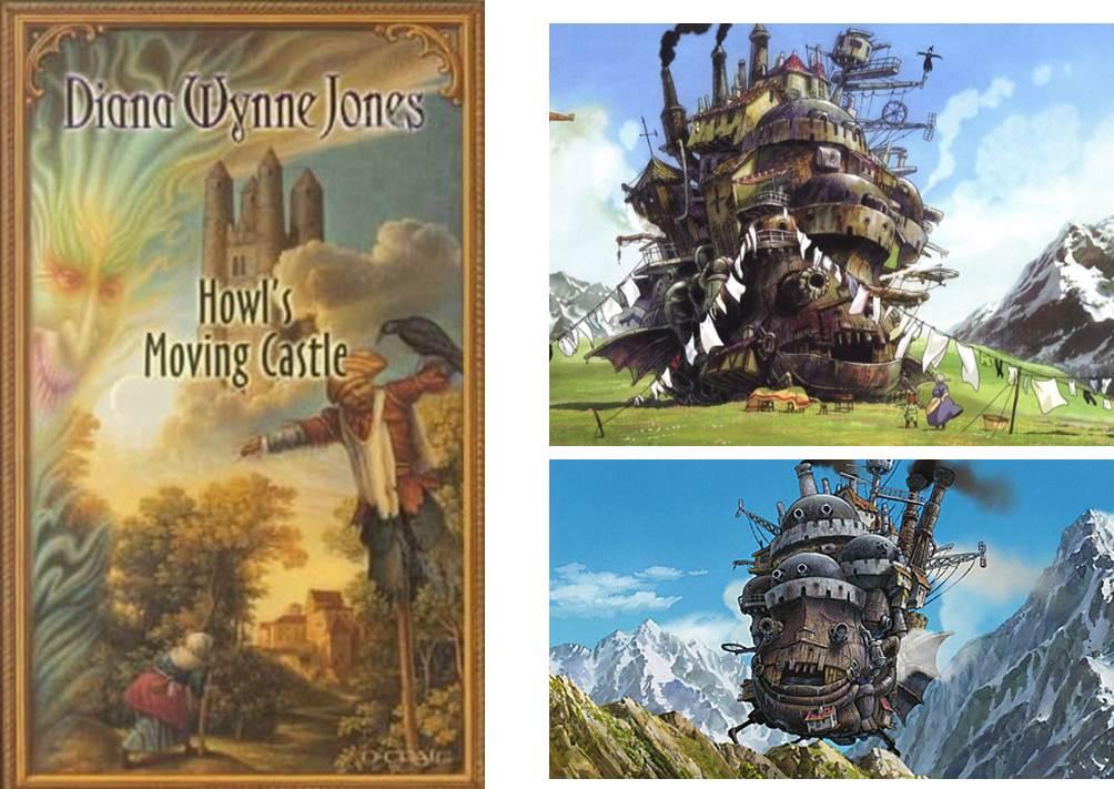 ハウルの城の原作との比較