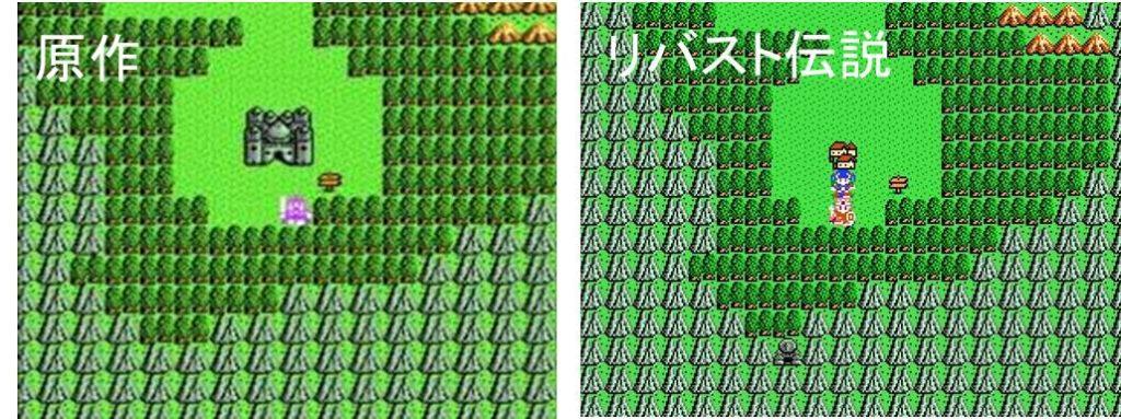 おすすめドラクエフリーゲームの図