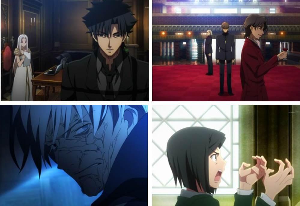 Fate/Zero第一話の図