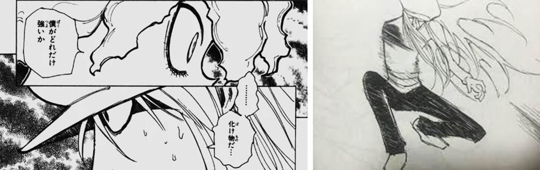 キメラアント編のベストシーンの図