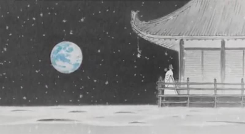 かぐや姫の物語の感想の図