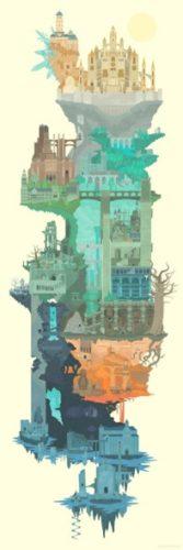 ダークソウルのマップ