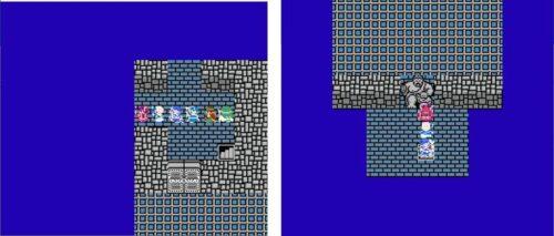 ドラクエ3ダブルプライムの満月の塔の図